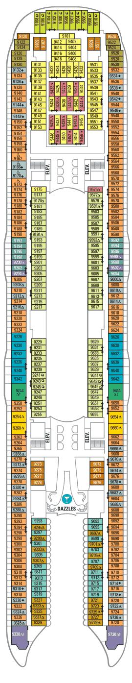 Allure of the Seas - Deck 9