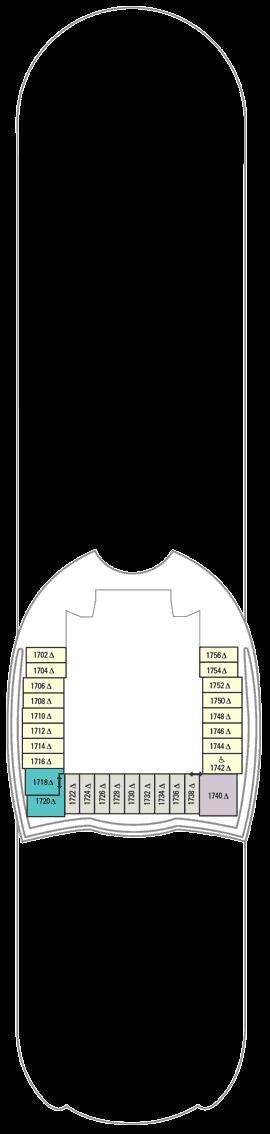 Allure of the Seas - Deck 18