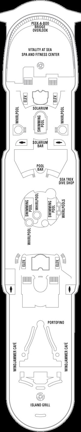 Explorer of the Seas - Deck 11