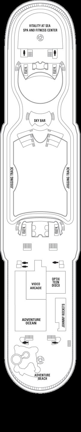 Explorer of the Seas - Deck 12