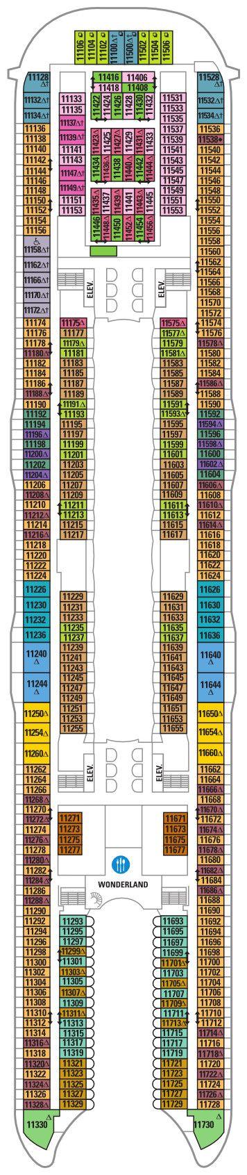 Harmony of the Seas - Deck 11