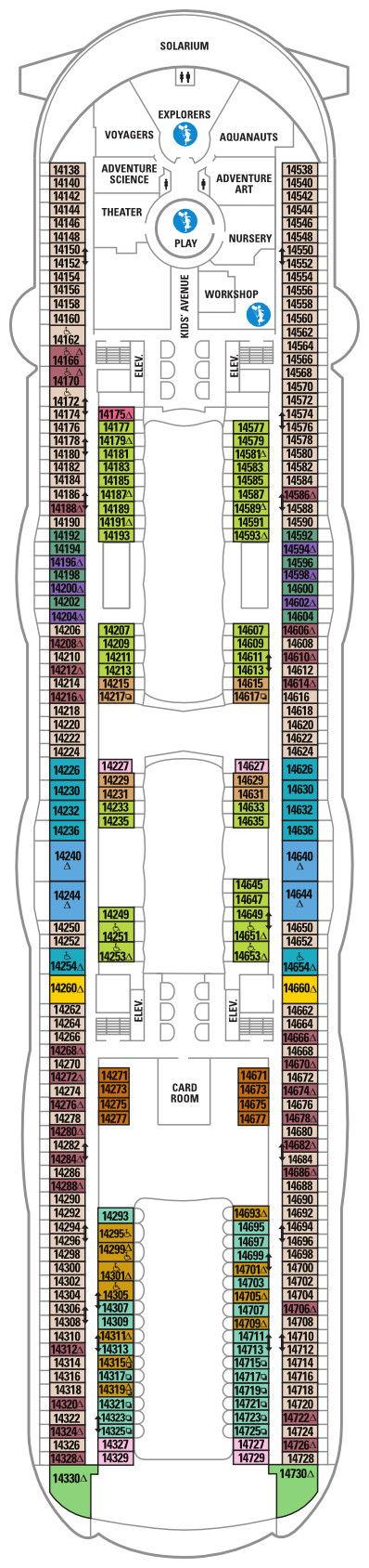 Harmony of the Seas - Deck 14