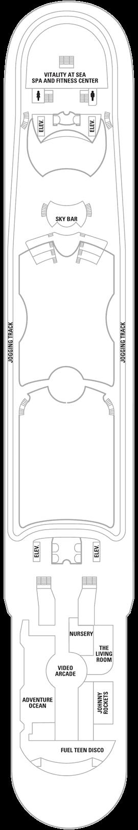 Liberty of the Seas - Deck 12
