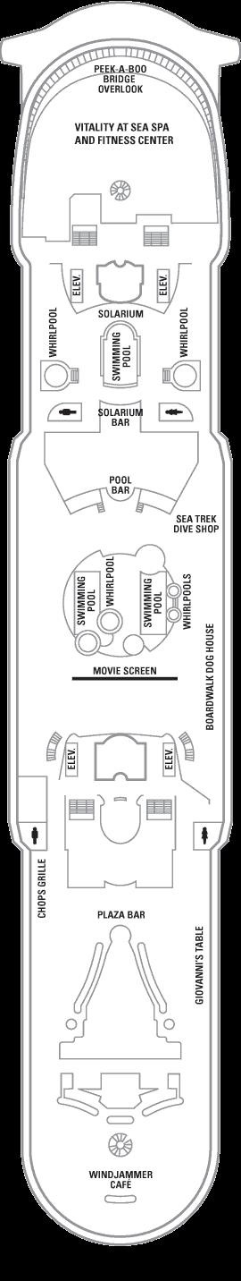 Mariner of the Seas - Deck 11
