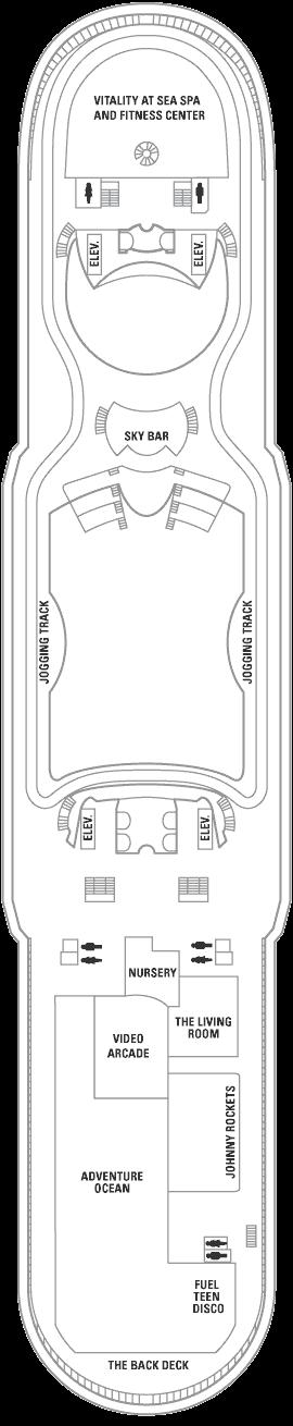 Mariner of the Seas - Deck 12