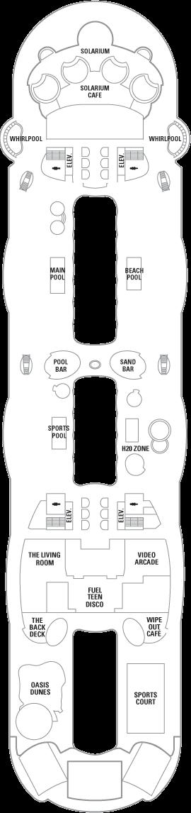Oasis of the Seas - Deck 15