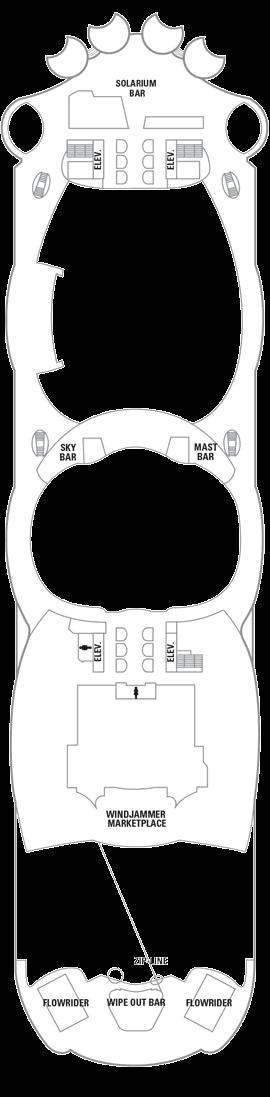 Oasis of the Seas - Deck 16