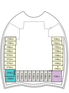 Oasis of the Seas - Deck 18