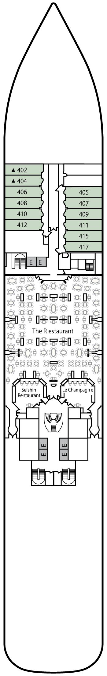 Silver Spirit - Deck 4