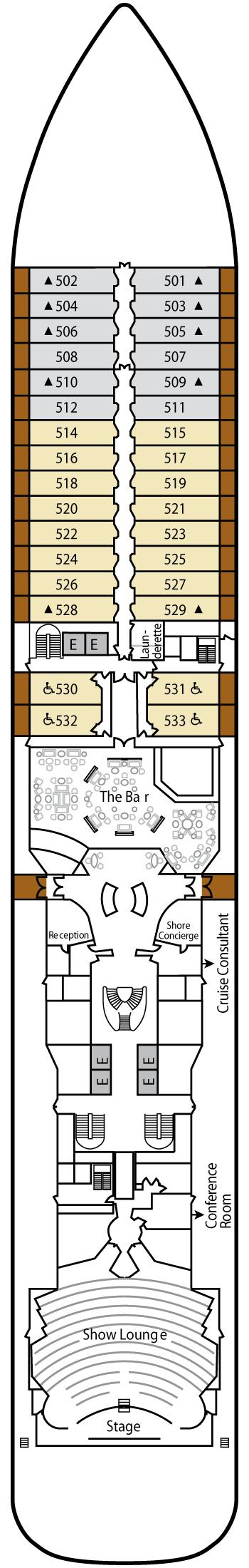 Silver Spirit - Deck 5