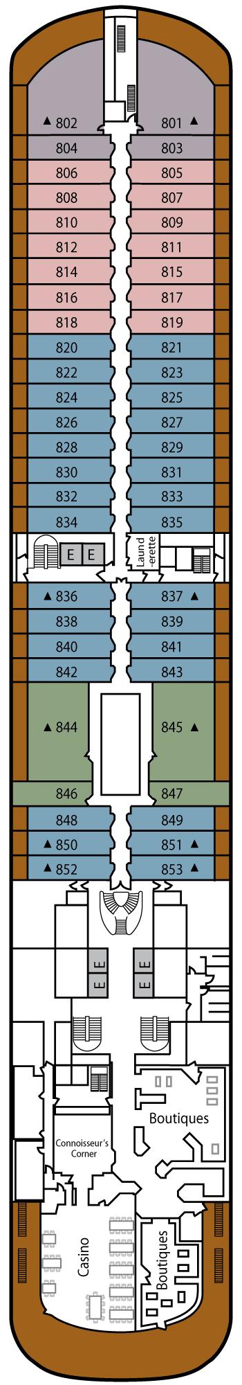 Silver Spirit - Deck 8