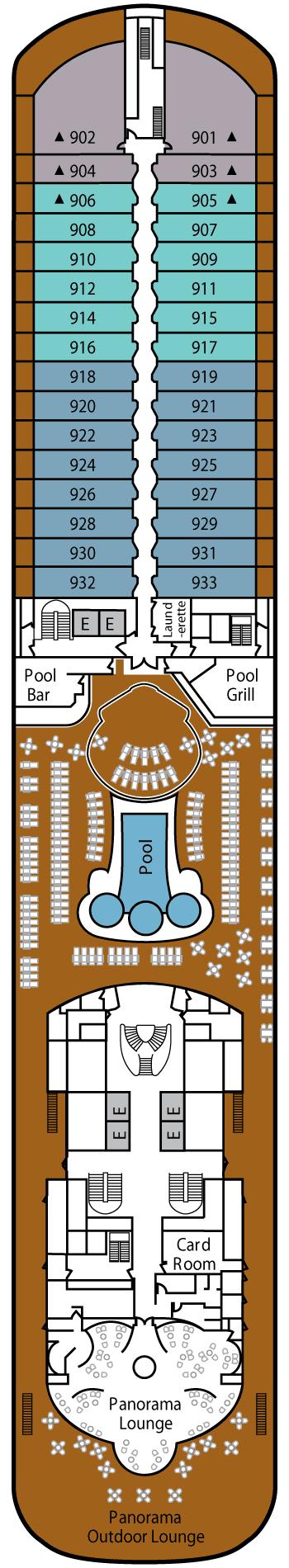Silver Spirit - Deck 9