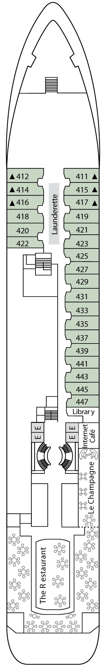 Silver Wind - Deck 4