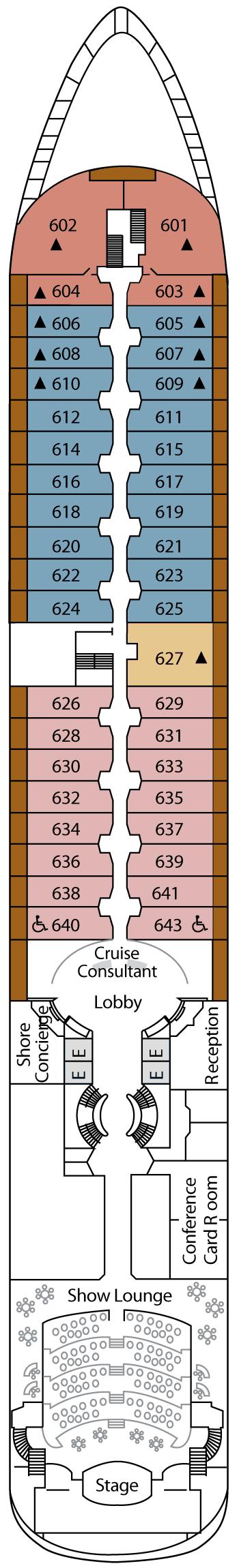 Silver Wind - Deck 6