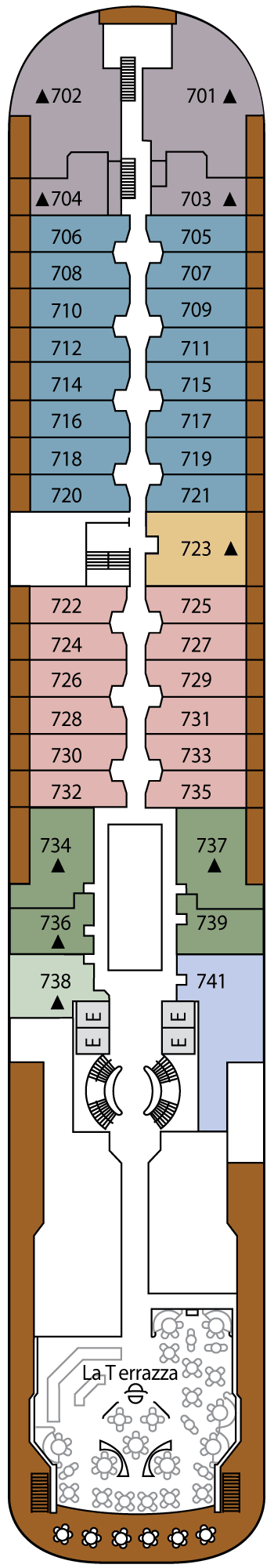 Silver Wind - Deck 7