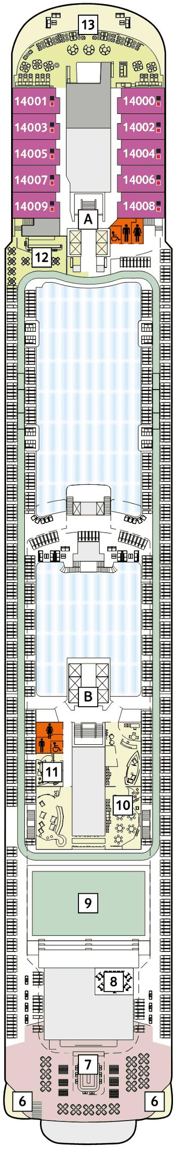 Mein Schiff 4 - Horizont